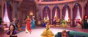 Princess Elena meets the Disney Princesses