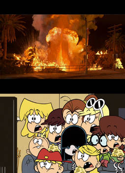 Loud sisters stunned at Volcano (1997)