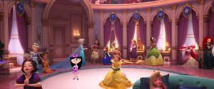 Isabella meets the Disney Princesses