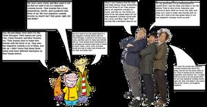 Ed, Edd n Eddy meets The Three Stooges