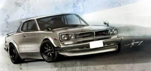 KPGC10 Skyline GT-R