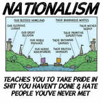 Nationalism in a nutshell from tumblr