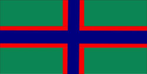 Nordic Pan-autism flag