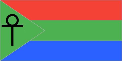 Egyptian pan-autistic flag