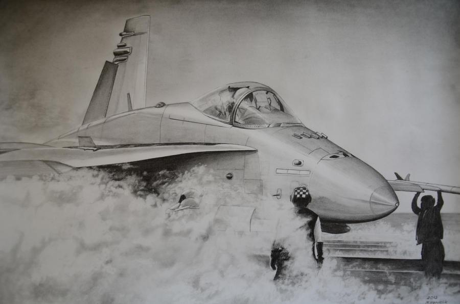 F-18 Hornet by vipmig