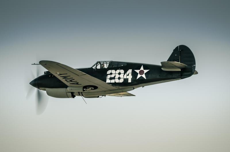 P-40 Warhawk by vipmig