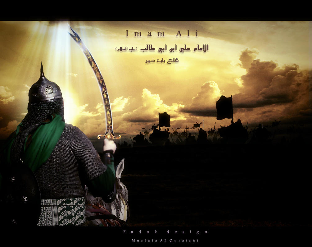 Imam ali on the battlefield by mustafa20 on deviantart - Imam wallpaper ...