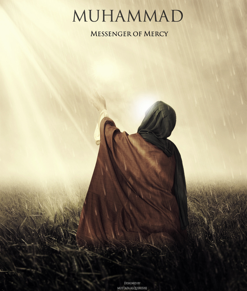 the messenger of mercy God has tried you with mercy upon mercy or only think of them as a background for the brightness of the comfort which i would give you as god's messenger.