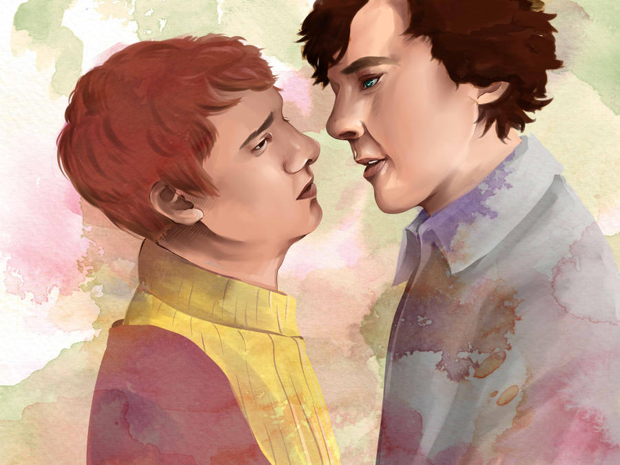 Sherlock - Johnlock by dbrloveless
