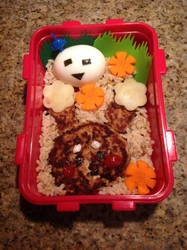 Bento Lunch by detectiveee