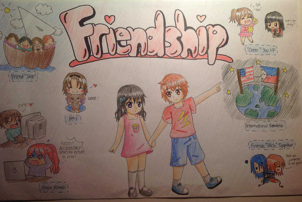 FriendShip Poster By Detectiveee