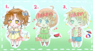 [OPEN- 1/3] Summer chibis -SB-