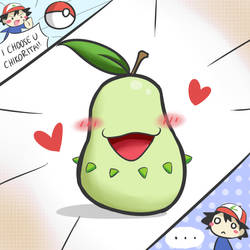 I CHOOSE U, PEAR!!