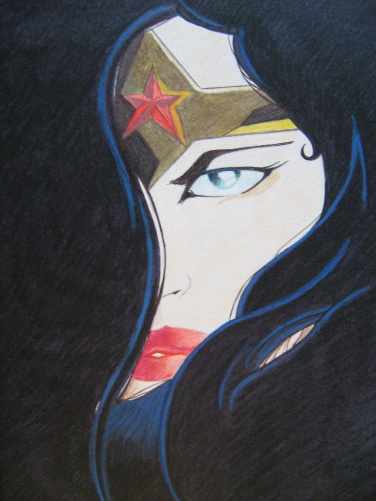 WONDER WOMAN by ARTIEFISHEL79