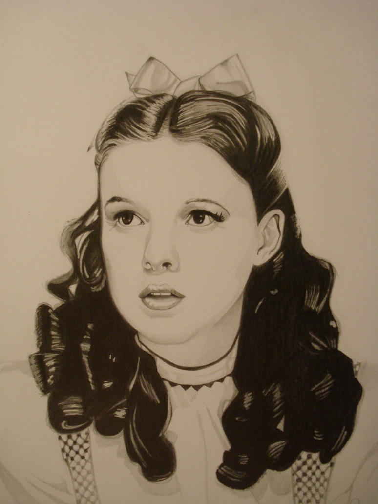 Judy Garland (Dorothy Gale ) by ARTIEFISHEL79 on DeviantArt