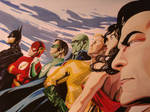 justice (alex ross cover )
