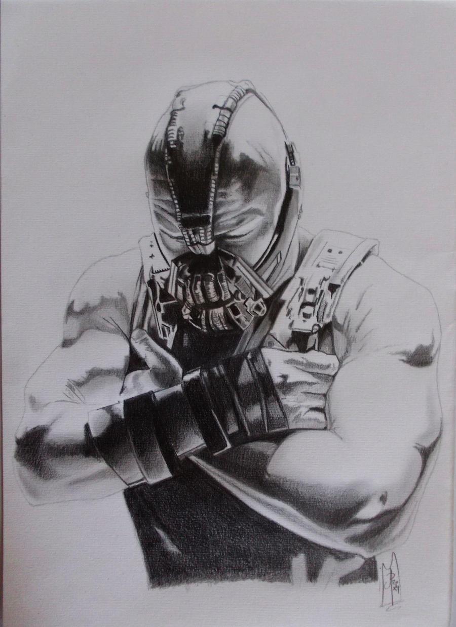 BANE dark knight rises sketch by ARTIEFISHEL79 on DeviantArt
