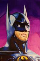 BATMAN (Michael keaton 1989 ) by ARTIEFISHEL79