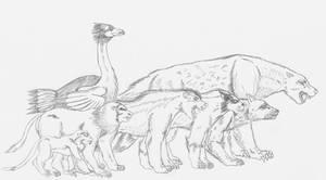 Future African Predators by spidervenom022