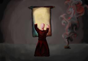 Scholar Monk WIP by Avenger1130