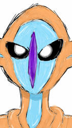 Deoxys by enderluv