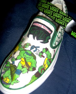 Sea Turtle Vans Shoes