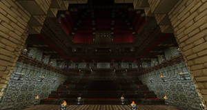 Minecraft Movie Palace 11 by ConcreteCastleMagic