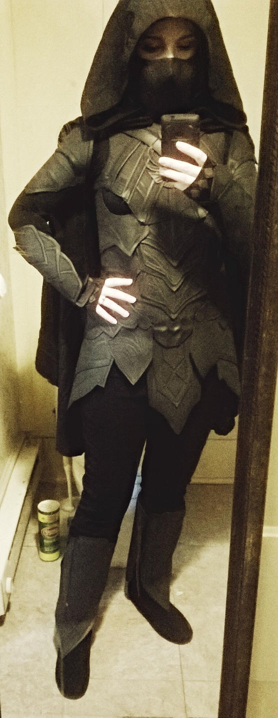 Nightingale Armor Finished by LadyduLac