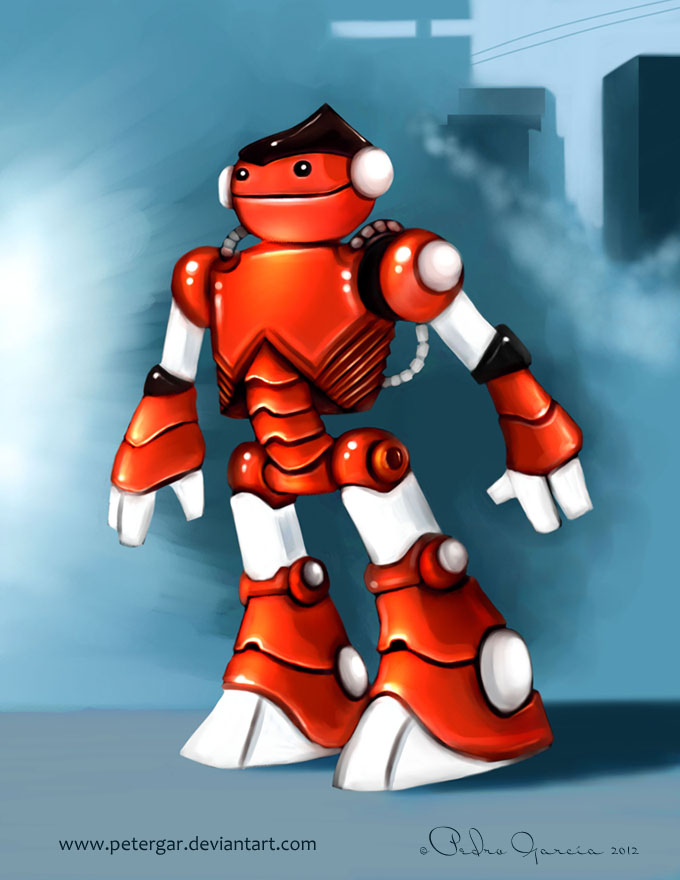 Robotito by petergar