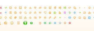 Music portal icons by Andy3ds