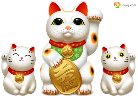 Free icons Maneki Neko by Andy3ds