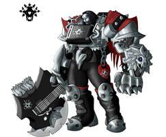 Metalhardt: Reinhardt Overwatch Skin Concept by magicdragonmage