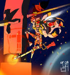 Captain Welds: Cosmic Corsair OC Contest
