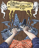 Prosthetic Pianos by Alex-Cooper