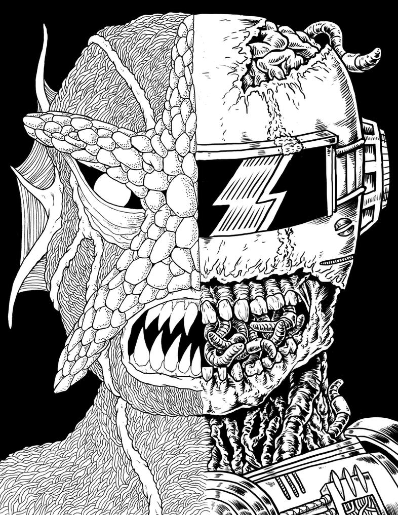 Splitface Collab #1 by Alex-Cooper
