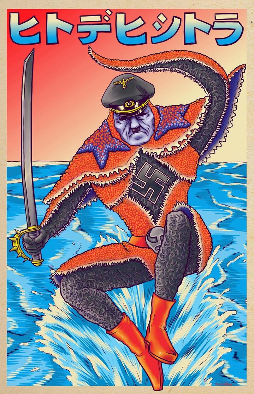 Starfish Hitler by Alex-Cooper
