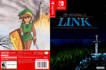Zelda II AoL Nintendo Switch Cover