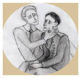 Yusupov and Romanov by Ananasoviiketchup