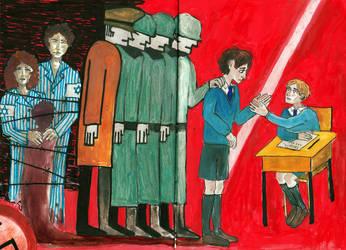 Au revoir, les enfants by Ananasoviiketchup