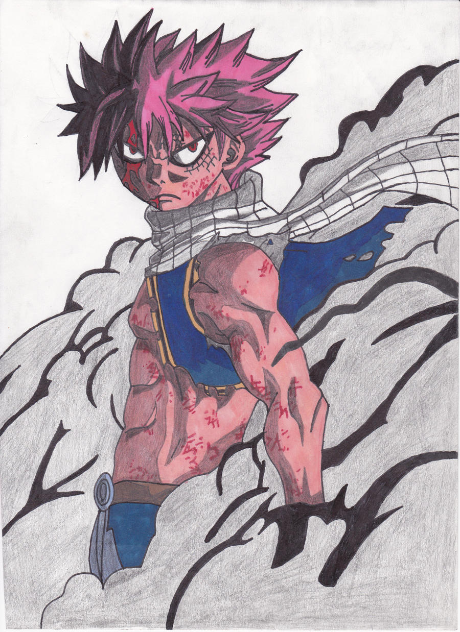 Images: Natsu Dragon Force Drawing