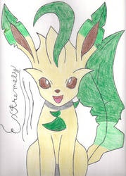 Extremely The Leafeon by TheDarkManetric