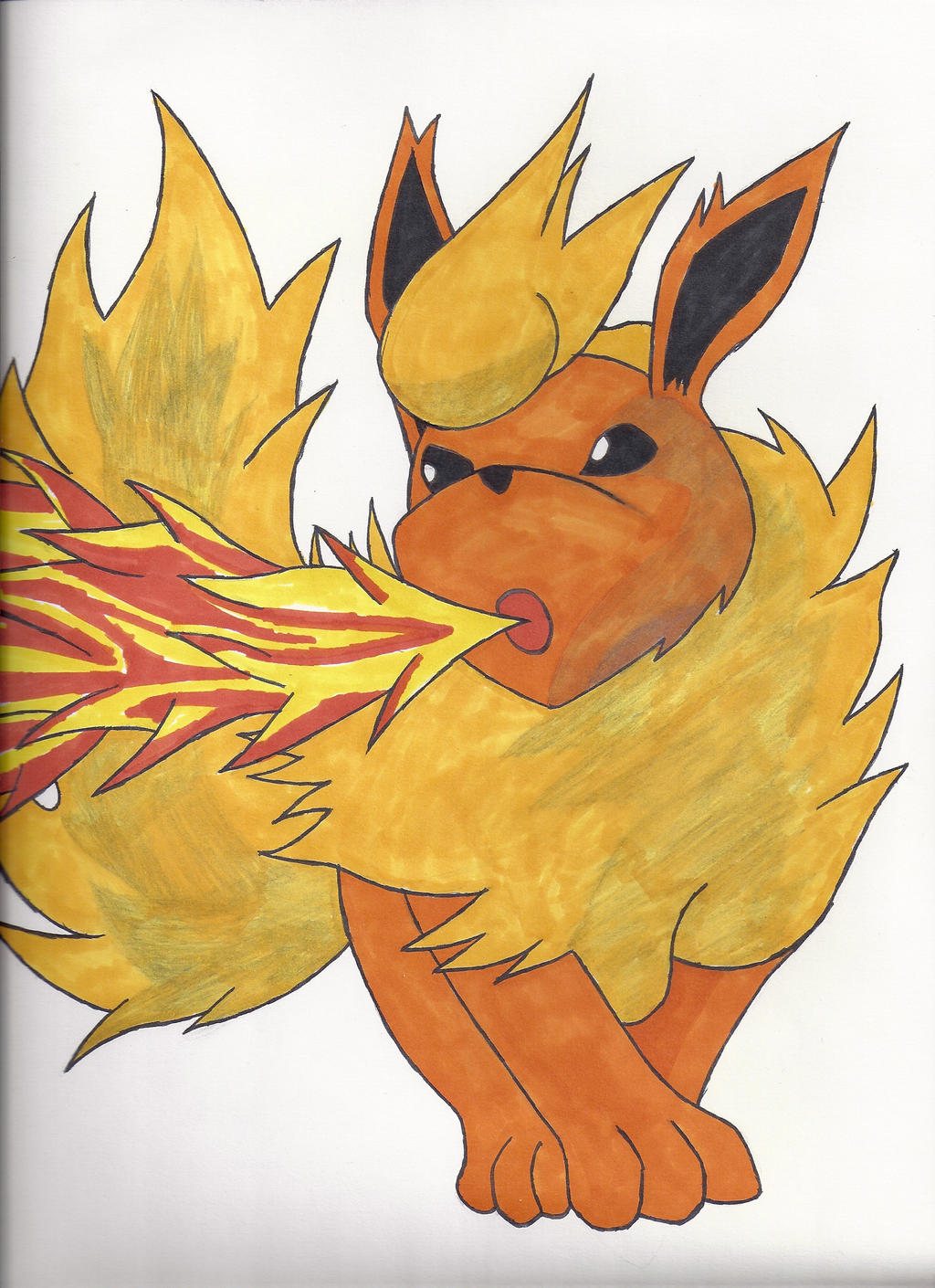 Why is it a big deal that Flareon can't learn Flare Blitz ...