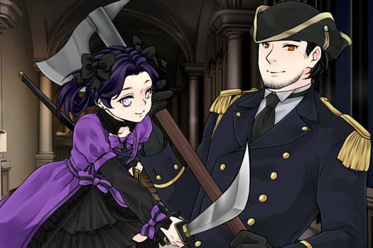 My Vampire Hunter FCs Violet and Klaus