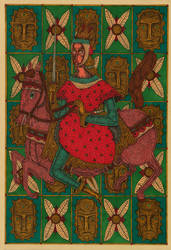 A knight with horse