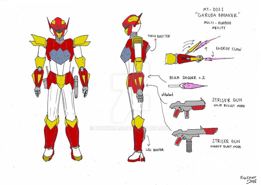 Sky Knight - Garuda Breaker design by riockman