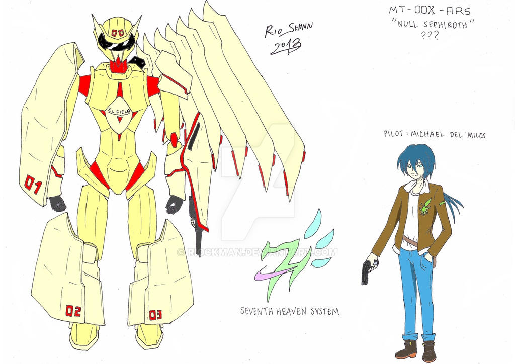 Sky Knight - Null Sephiroth design by riockman