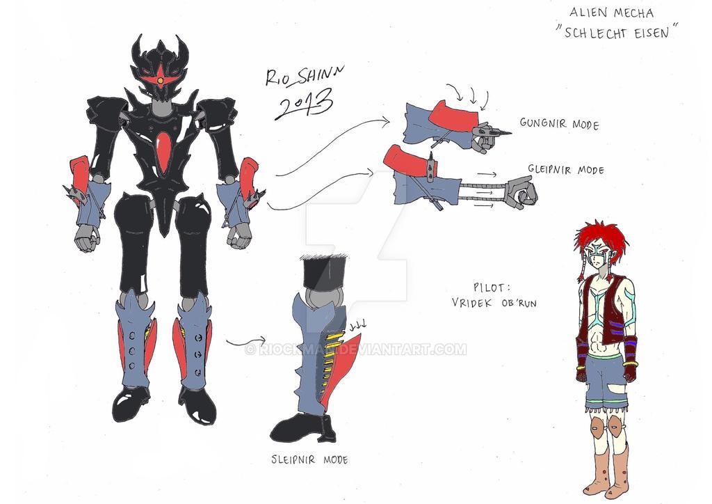 Sky Knight - Schlecht Eisen design by riockman