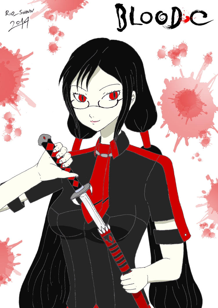 Blood-C - Saya Kisaragi by riockman
