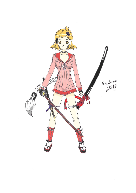 Senki Zesshou Samurai Bride 1 Colored by riockman