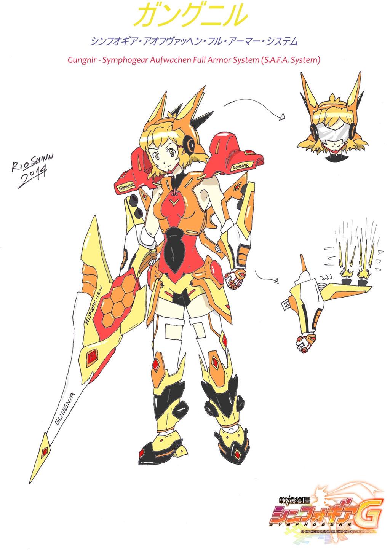 Hibiki Tachibana - Gungnir S.A.F.A. System by riockman